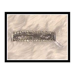 ABS ByAllen Schwartz Exquisite Rhinestone Bracelet